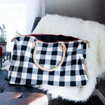 White Buffalo Plaid Weekender