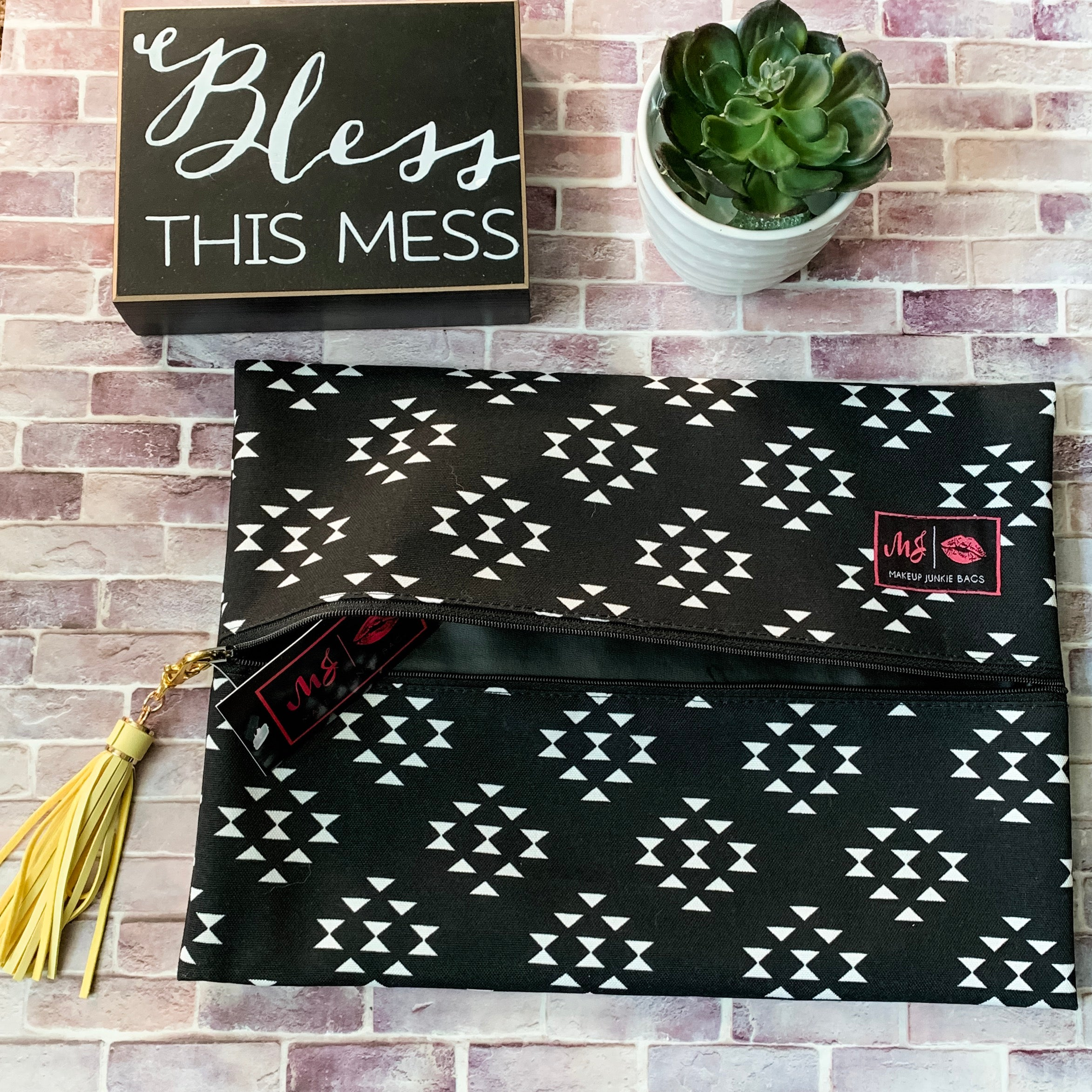 Makeup Junkie Bermuda Bag-Two Sweet Berries