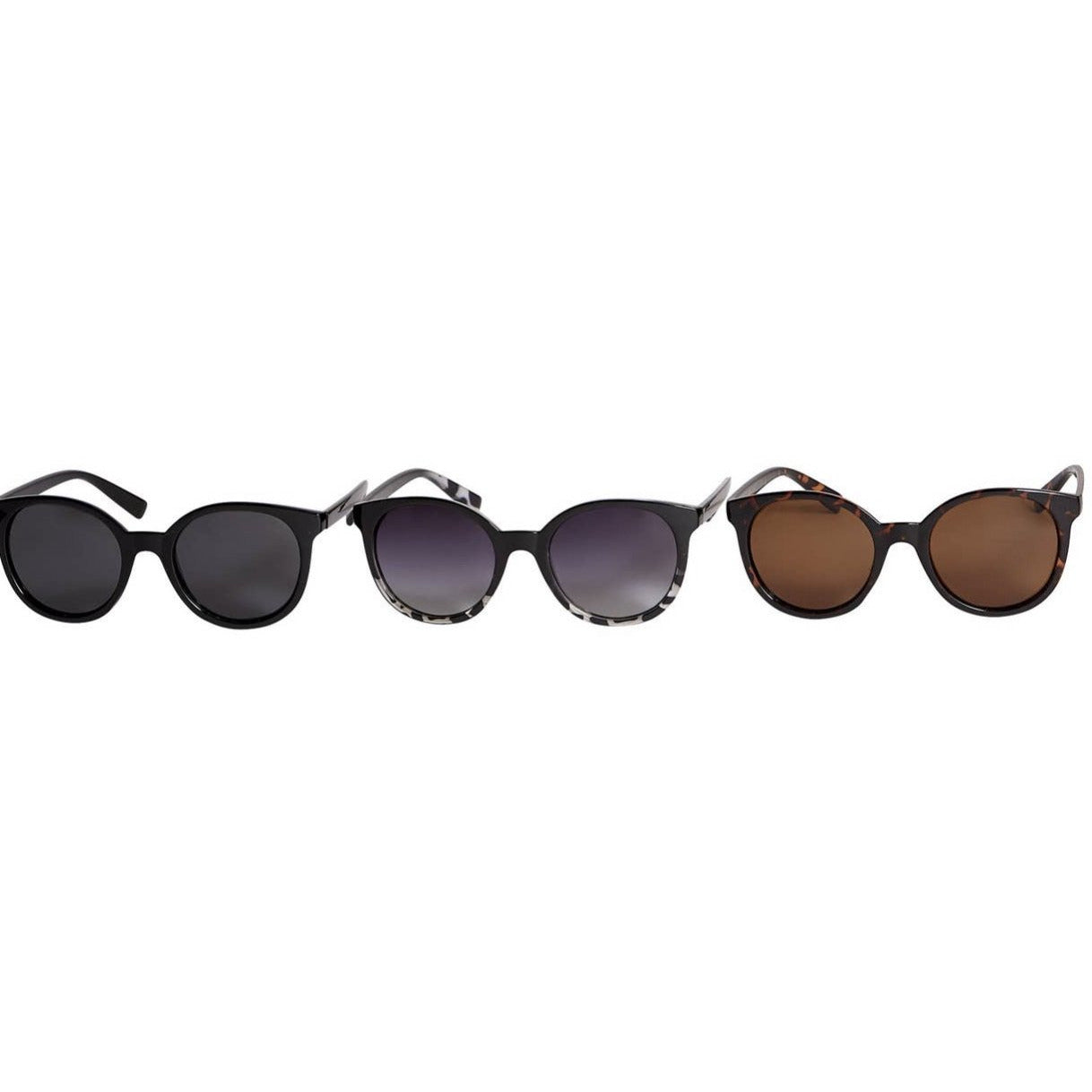 Jenna Round Polarized Sunglasses