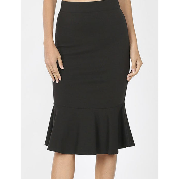 Dolly Skirt-Black