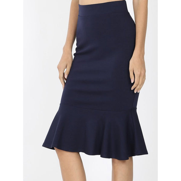 Dolly Skirt-Navy