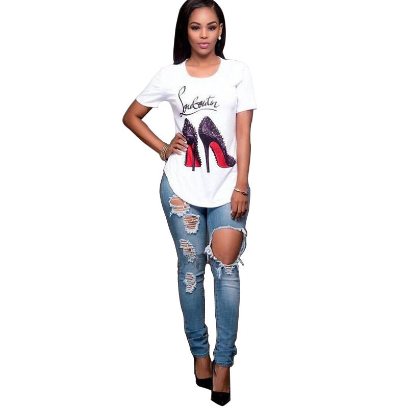 High-heeled Shoes T-Shirt