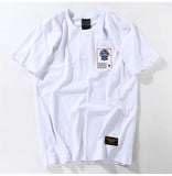 Men's casual cotton  T-shirt