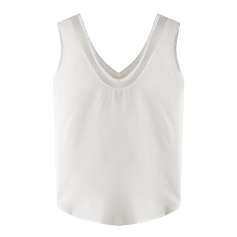 European and American summer chiffon vest