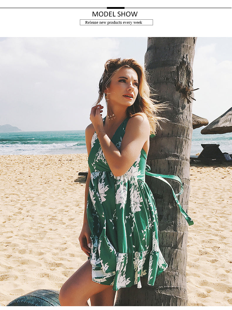 Beach Bohemian Vacation Dress