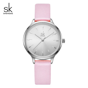 Leather Ladies Wrist Watch Relogio Feminino