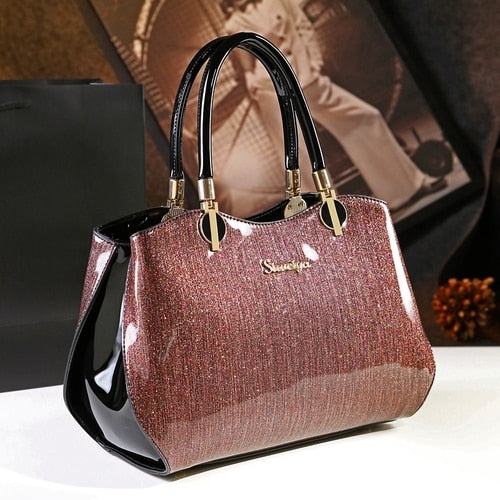 Bride Patent leather handbags
