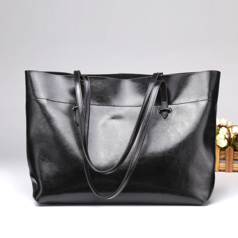 Leather Fashion Bag, Western Style