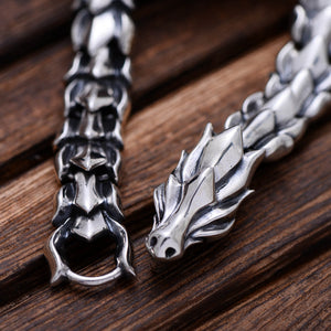 Dragon S925 sterling silver bracelet
