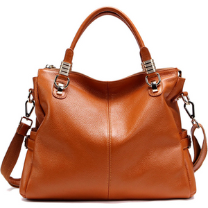 Extrem™ cowhide classic wild leather handbag