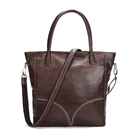 Timbaba© leather tote handbag