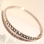 925 Women's Diamond Sterling Silver Bracelet