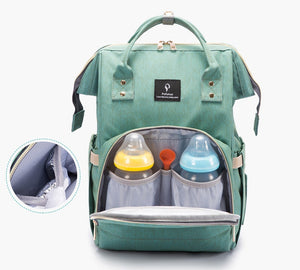 Mummy Baby Diaper Bag With USB Interface
