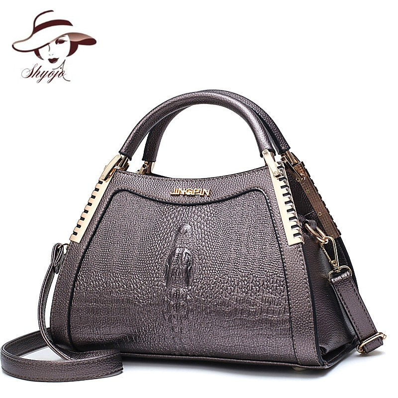 Extrem Alligator crocodile  Leather Handbag