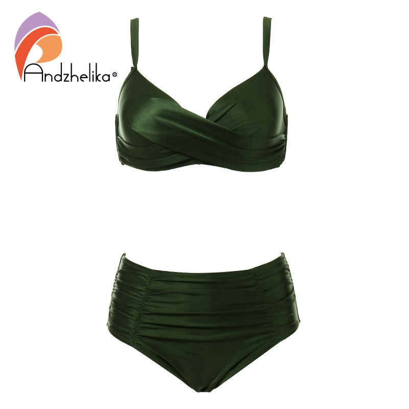 High-grade fabric bikini Set Plus Swimwear