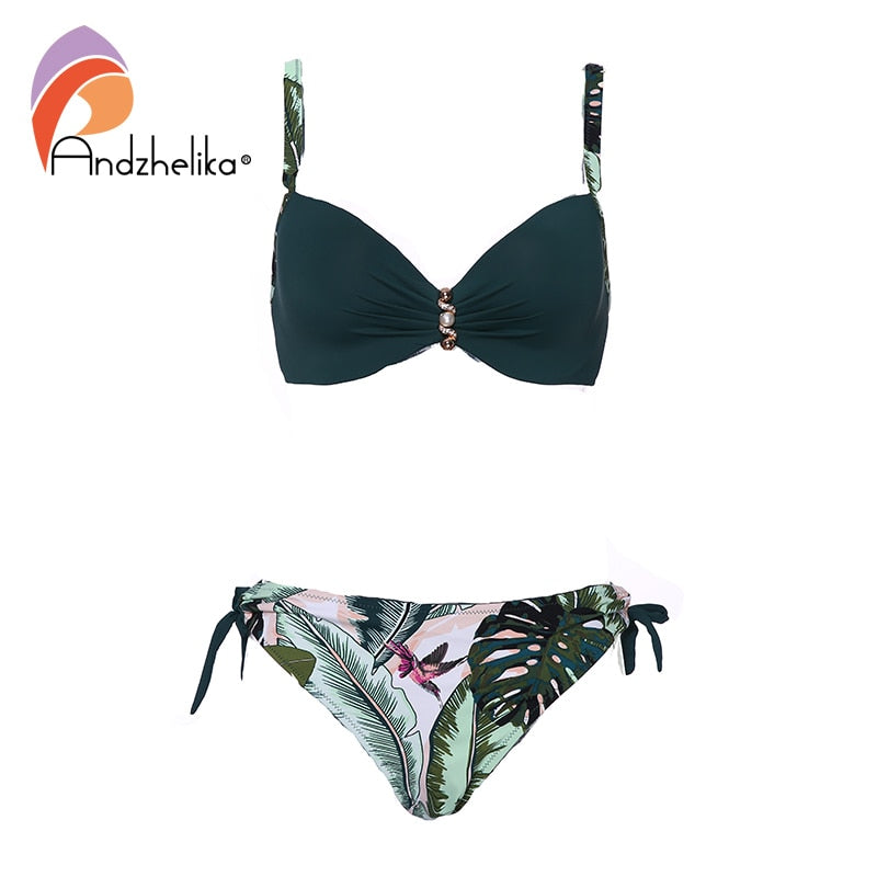 Bikini Set High-grade pearl Swimwear