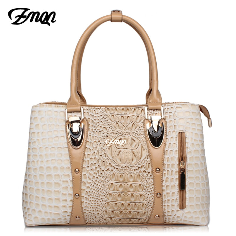Extrem Luxury Crocodile Leather Handbag