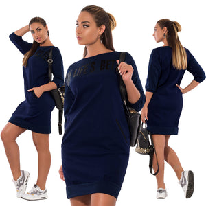 My Life is Better- Casual  Elegant Dress