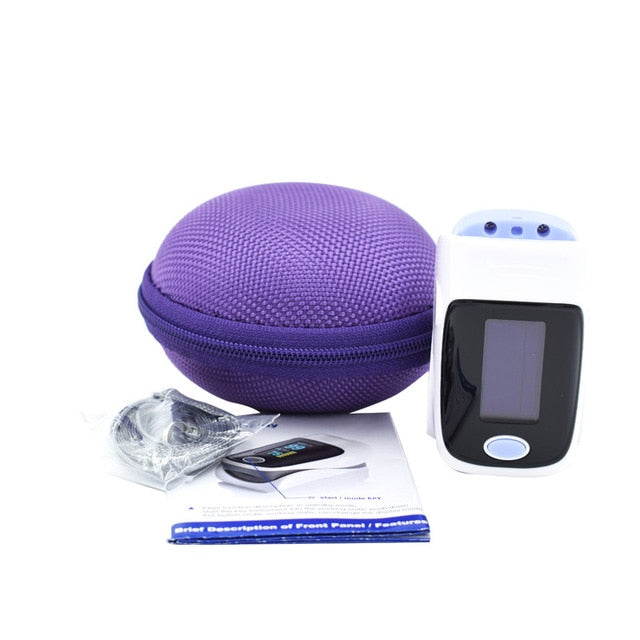 Purple Fingertip Pulse Oximeter
