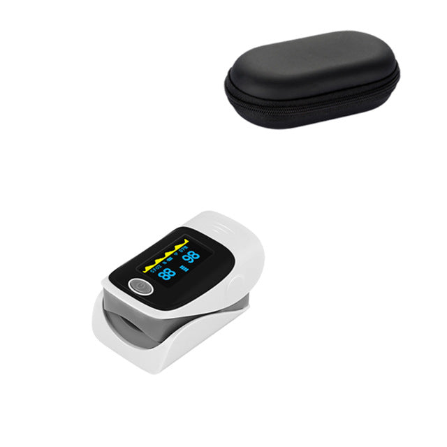 Grey Fingertip Pulse Oximeter