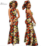 Wax Fabric African dress