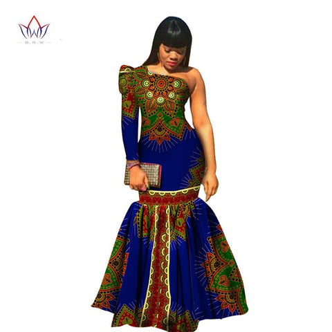 Latest Fashion African Woman Dress- 100% Cotton