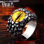 Dragon Eye Claw  Zircon stone Ring