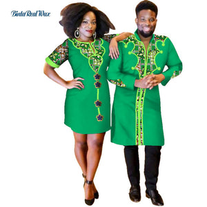 Sweet Lover Couples African Print