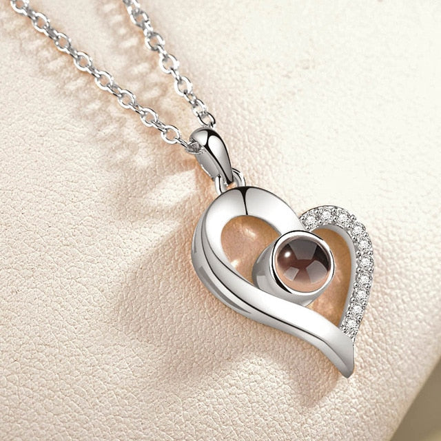 The Unending Love- I LOVE YOU GLOW NECKLACE