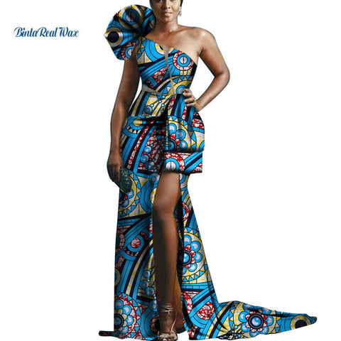 Party  African Print- 100% Wax Cotton
