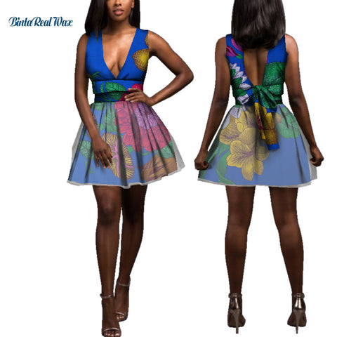 Knot-bow African Wax Print