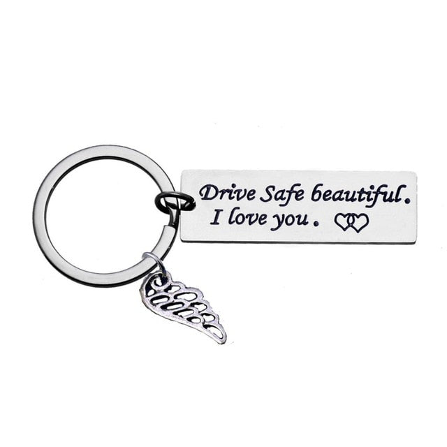 Drive Safe Key-chain- Holiday Gift