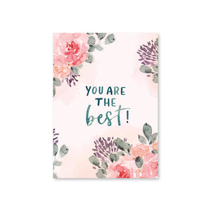 "POSTKARTE ""You are the best"""