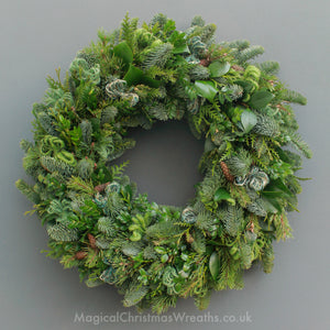 Luxury Fresh Festive Door Wreaths