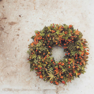 Welcoming Autumnal Wreaths