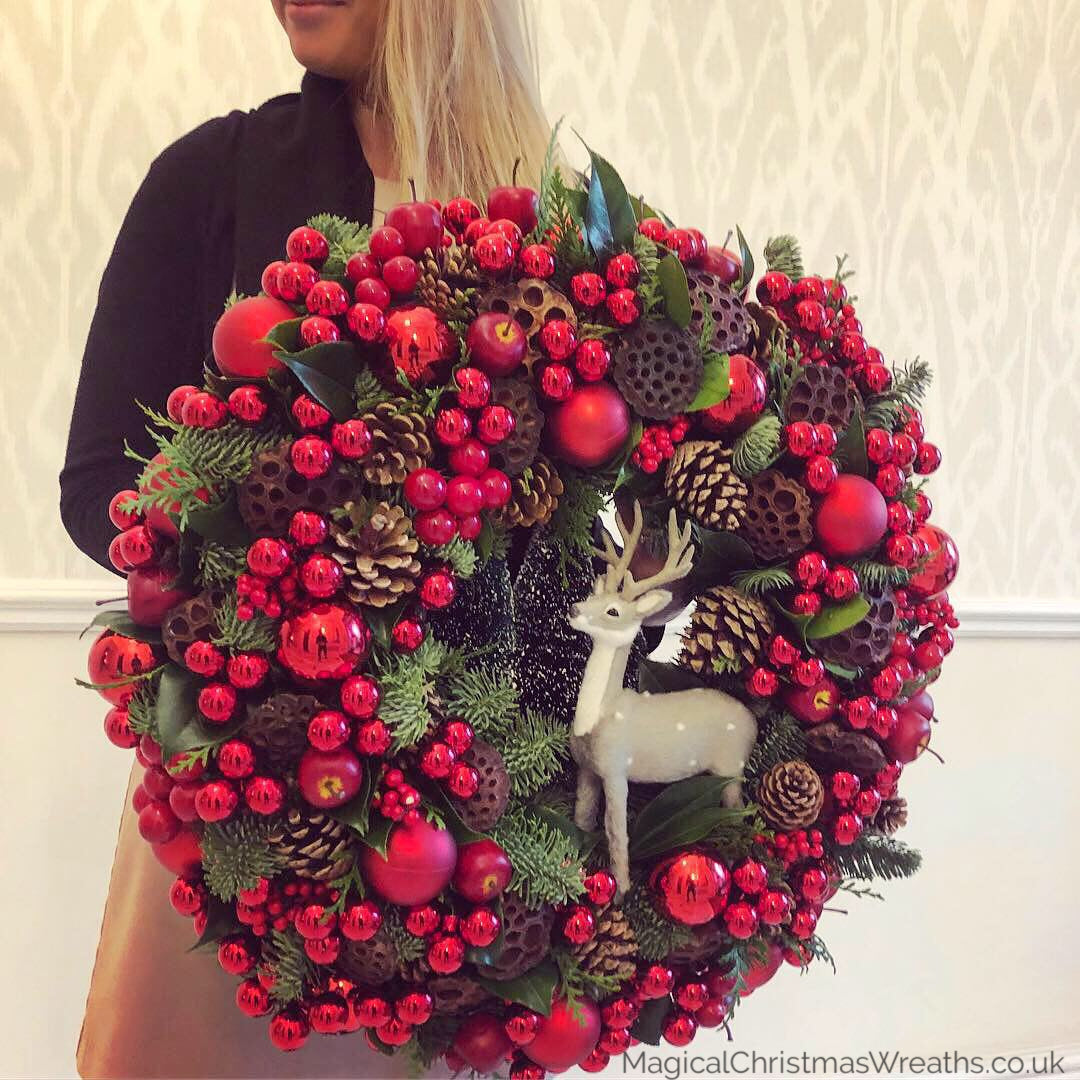 Luxury Custom Christmas Wreaths