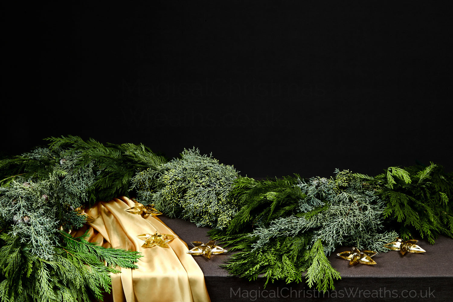 Fresh Handmade Luxury Real Christmas Cedar Garlands