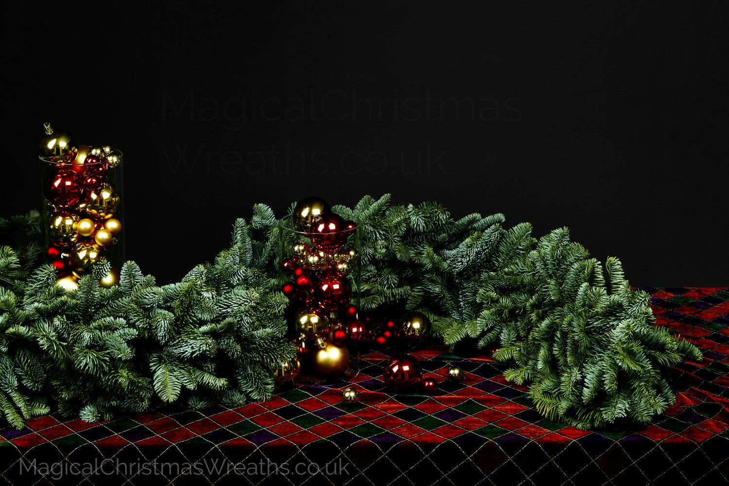 Fresh Handmade Luxury Christmas Pine Garlands