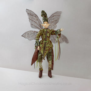 Luxury Christmas Elf Ornament