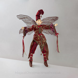 Magical Christmas Elf Decoration