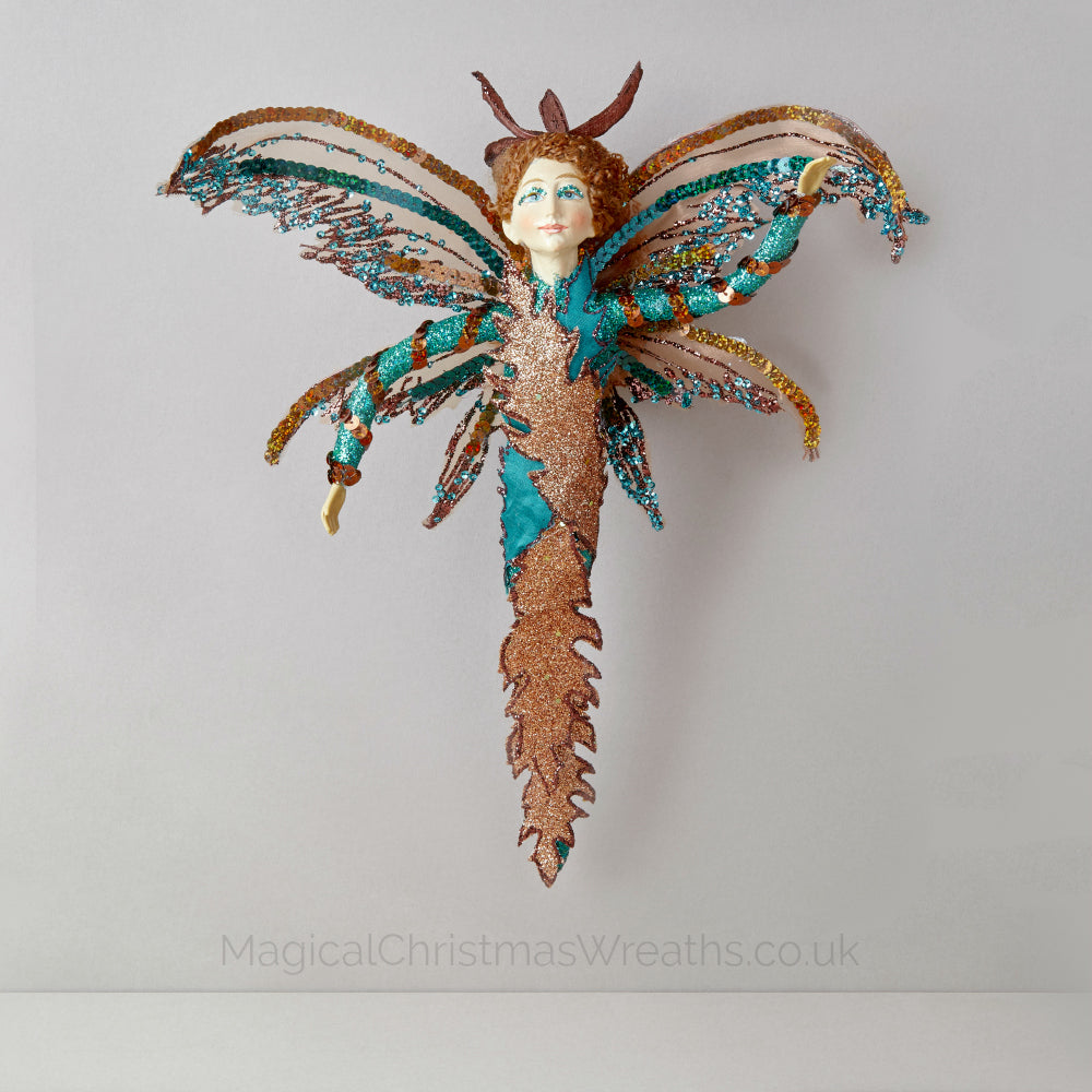 Luxury Christmas Butterfly Fairy Ornament