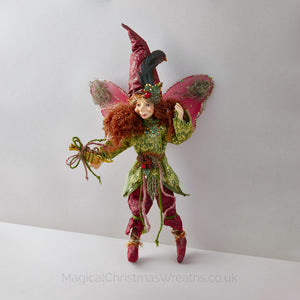 Luxury Christmas Elf Doll