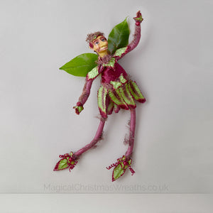 Unique Luxury Christmas Elf Ornament