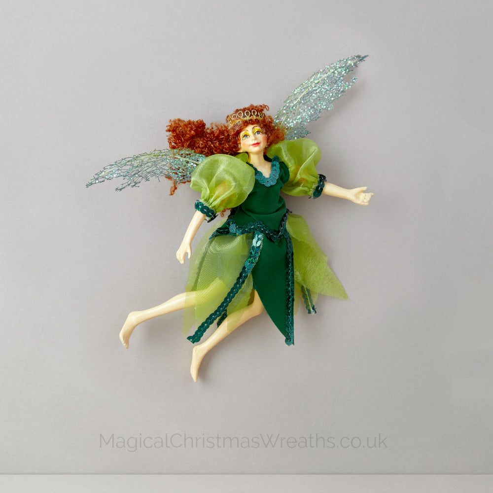 Luxury Green Christmas Fairy Decoration