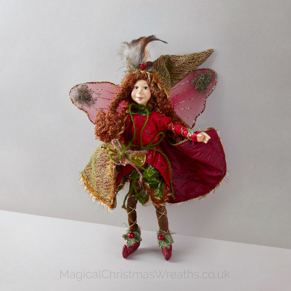 Christmas Forest Fairy Doll Decoration