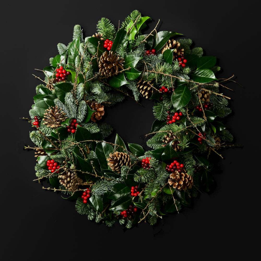 Fresh Christmas Wreaths.Balmoral