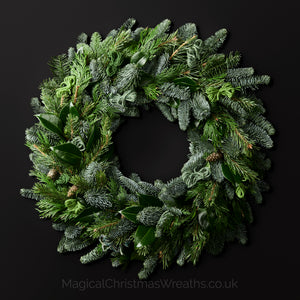 Luxury Green Pine Fresh Christmas Door Wreath
