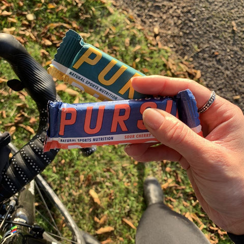 Pursu energy bars - coming to Gallivant.bike in 2020