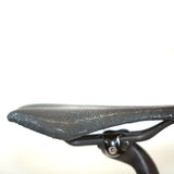 Black Shagreen Saddle