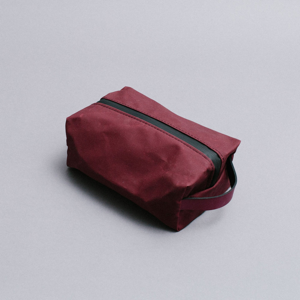 Wash Bag - Burgundy